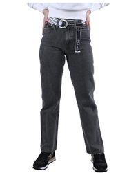 Calvin Klein Straight Fit Jeans - Grijs