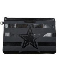 Jimmy Choo Derek clutch bag - Gris
