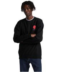 Edwin 45121mc000122 Japanese Sun Sweater - Zwart