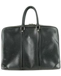 Louis Vuitton Porte document business d'occasion - Noir