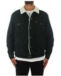 Levi's 16365-0132 Denim Jacket - Zwart