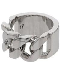 Alexander McQueen Logo Ring - Grijs