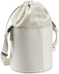 Maison Margiela Mini Bucket Bag - Blanc
