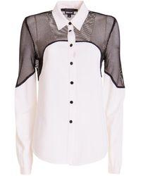 Just Cavalli Long-sleeved shirt - Blanc