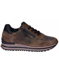 Gabor Comfort H-leest Sneakers - Bruin