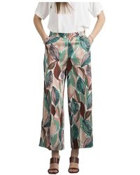 Marella Pantaloni cornice - Rose