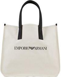 Emporio Armani Borsa Shopper - Naturel
