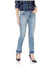 Black Orchid Jeans Denim Bardot Straight Leg - Blauw