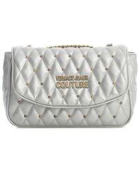 Versace Jeans Couture Crossbody Bag W/chain Strap - Grijs