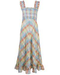 Ganni Maxi Dress - Naturel