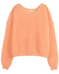 American Vintage Sweater - Oranje