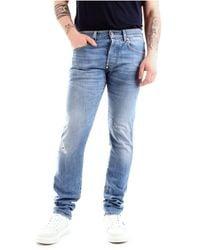 Blauer 21Sblup03402-006016 Slim Jeans - Bleu