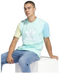 adidas Trefoil T-Shirt Azul