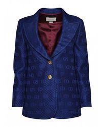 Gucci Blazer Jacket - Blauw