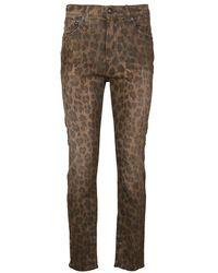 R13 Skinny Jeans - Bruin