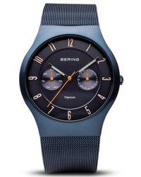 Bering Mod. Titanium - Blauw