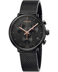 Calvin Klein - Chrono City Watch - Lyst