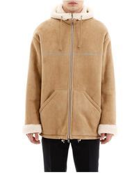 Prada Shearling Coat - Naturel