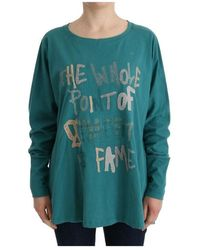 John Galliano Oversized Sweater - Groen