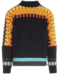 Sacai Knit pullover - Azul