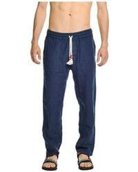 Mc2 Saint Barth Sweatpants - Blauw