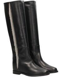 Via Roma 15 Boots Negro