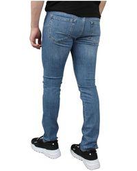 Iceberg 5 Pocket Jeans Azul