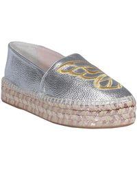 Sophia Webster Flat shoes Gris