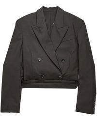 Rains Josie WO MH Suit Jackets - Noir