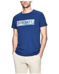 Hackett T-shirt - Blauw