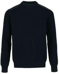 Ecoalf Crew neck sweater - Blu