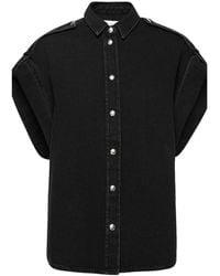IRO Short-sleeved Shirt - Zwart