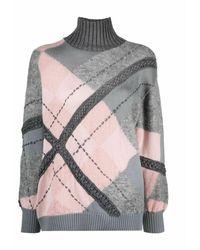 Alberta Ferretti Sweater - Grijs