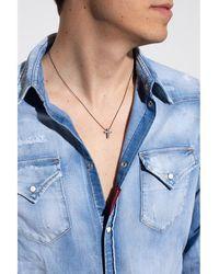 DSquared² Charm necklace Gris