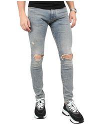 Represent Destroyer Denim Jeans - Blauw