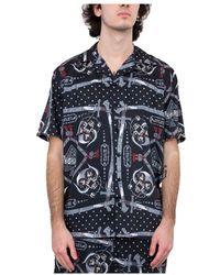 SSS World Corp Hawaiian Shirt - Zwart