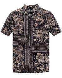 AllSaints - Ventura Short Sleeve Shirt - Lyst