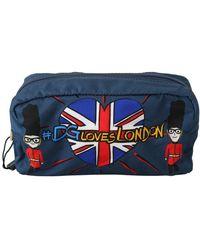 Dolce & Gabbana #DGLovesLondon Toiletry Bag - Blau