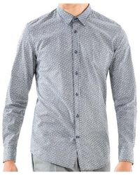 Antony Morato Shirt Mmsl00501 - Blu