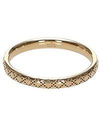 Gucci Icon Ring Metal 18K - Jaune