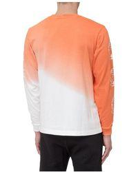 BBCICECREAM Sweatshirt Bleached Effect Naranja