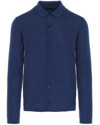 Roberto Collina Shirt - Blauw