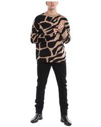 Roberto Cavalli Oversize Sweater Marrón