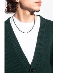 Isabel Marant Embellished necklace Verde