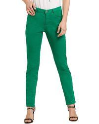 Naf Naf Pantalón Skinny - Groen