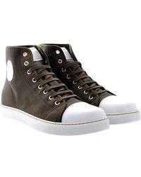 Marc Jacobs Hoge Sneakers - Bruin