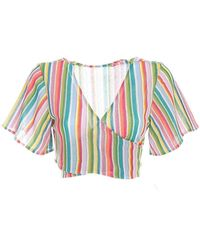 Mc2 Saint Barth Angelina x0045 blouse - Vert