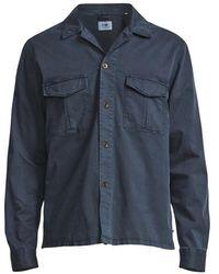 NN07 Berner Overshirt 1100 Azul