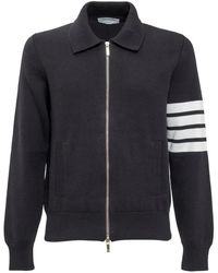 Thom Browne Sweater With Detail - Noir