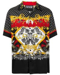 Versace Jeans Couture - Fantasy Shirt Paisley - Lyst